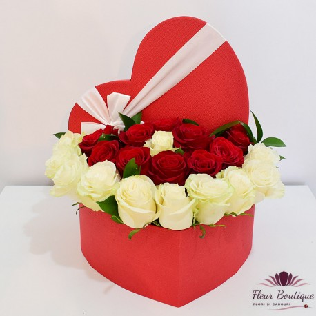 """Cutie trandafiri """"Heart"""""""
