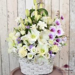 Cos floral Sinceritate