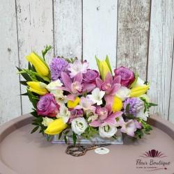 Cutie flori Primavara