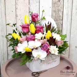 Cutie flori Rafinament