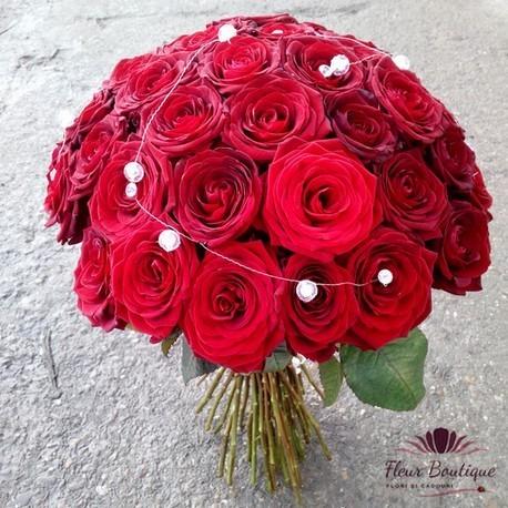 Buchet 41 trandafiri BF013
