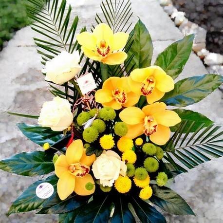 Aranjament floral inalt AF008