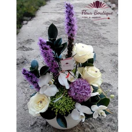 Aranjament floral mixt AF009