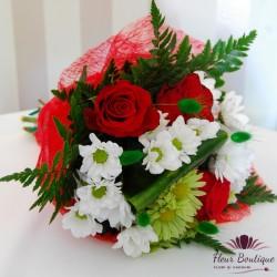 Buchet flori clasic