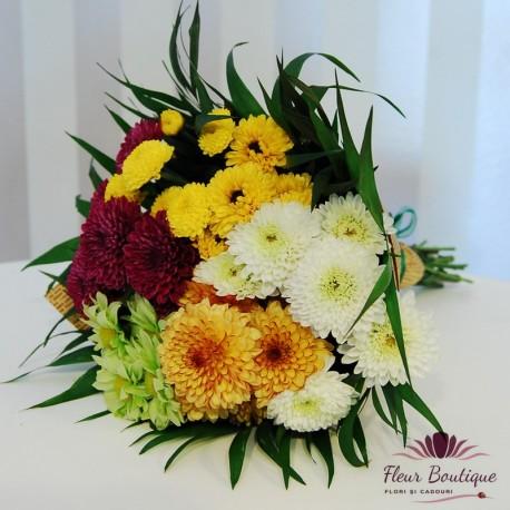 Buchet crizanteme BF036