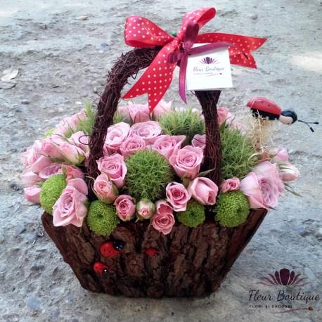 Cos floral minirose CF031