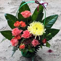 Cos floral de toamna CF033