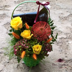 Cos floral de toamna CF034