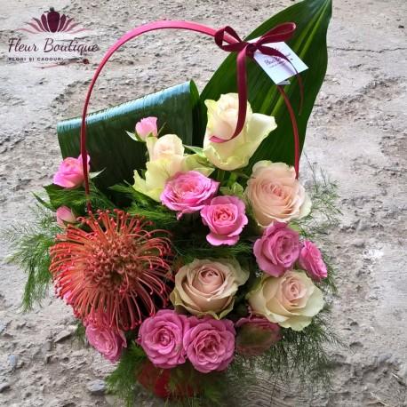 Cos floral de toamna CF036