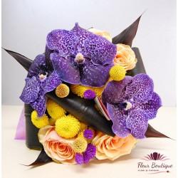 Buchet flori Purple Vanda BF042