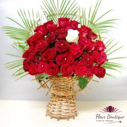 Cos floral 37 Trandafiri CF053