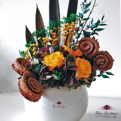 Aranjament floral stabilizat AFS001