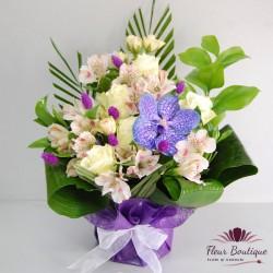 Aranjament floral Classic Purple AF022