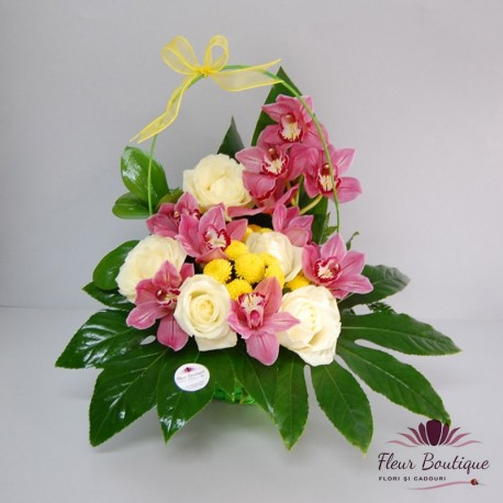 Cos floral Sumptuous Orchid CF058