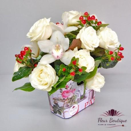 Aranjament floral Love Story AF027