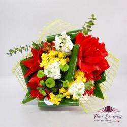 Buchet flori colorate