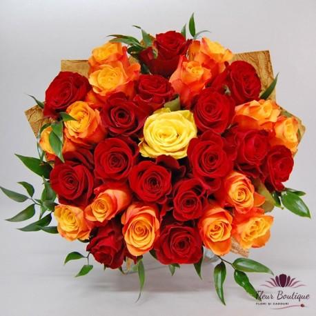 Buchet 31 trandafiri