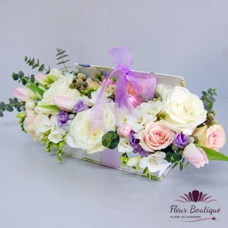 Carte cu flori CTF002