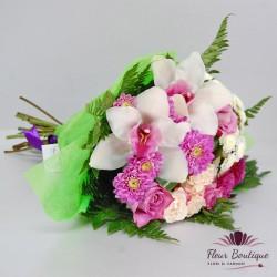 Buchet trandafiri si orhidee BF070