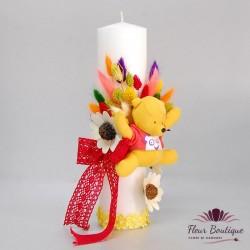 Lumanare botez Winnie the Pooh LB011
