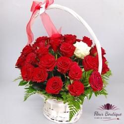Cos 37 trandafiri CF069