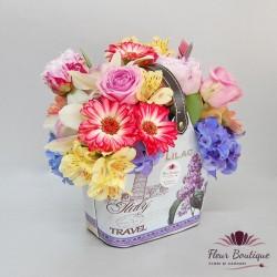Poseta cu flori CTF030