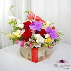 Inima cu flori CTF034