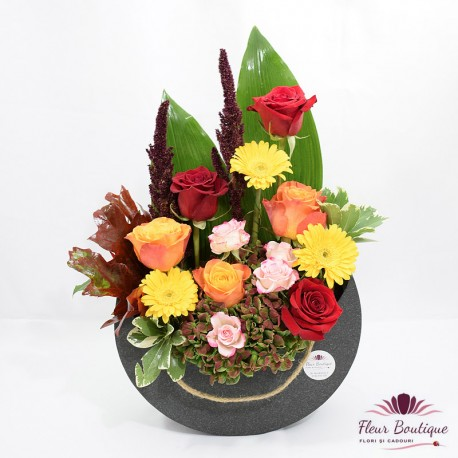 Aranjament floral Toamna Tarzie AF030