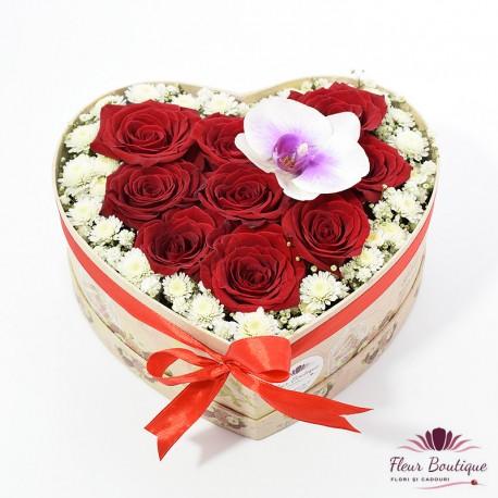 Cutie Trandafiri Rosii CTF019